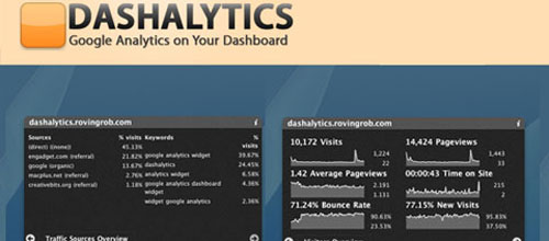 Dashalytics mac app