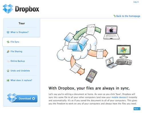 DropboxTour