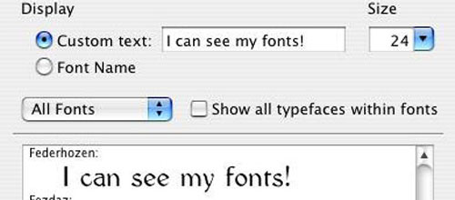 FontDoc mac app