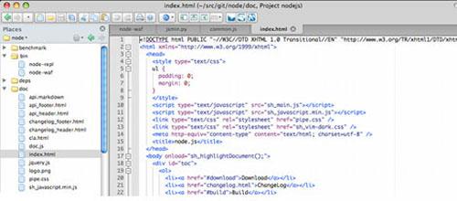 Komodo Edit mac app