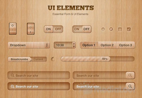 Free PSD UI Kits For Web Design