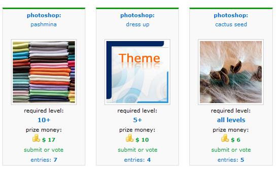 Photoshop Contest Overview - Pxleyes.com