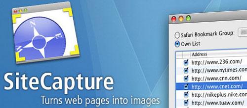 SiteCapture mac app