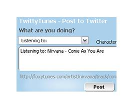 TwittyTunes -- Add-ons for Firefox