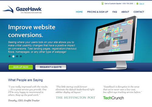 gazehawk-Web Usability Testing Tools