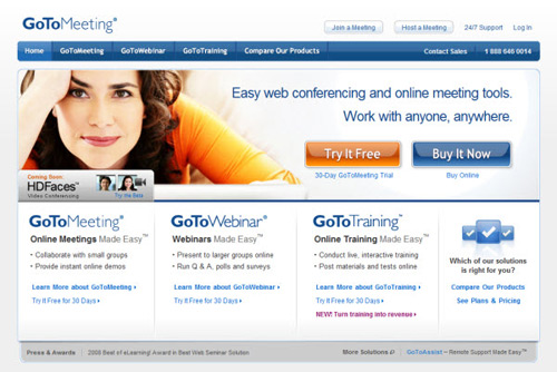 gotomeeting- Web Usability Testing Tools