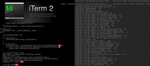 iTerm2 Mac app