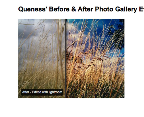 Create an Attractive Before and After Photo Effect with jQuery