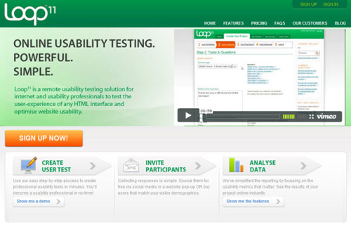 loop-11-Web Usability Testing Tools