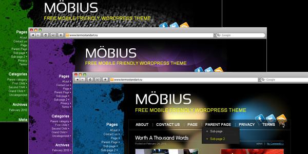 10 New Free WordPress Mobile Themes