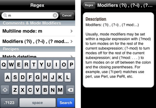 regex-cheat-sheet-app