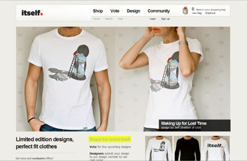 of Inspirational T-shirt Design Websites
