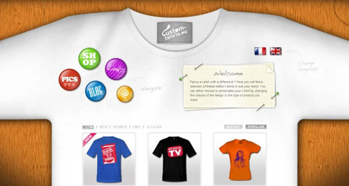 T-shirt Design Websites