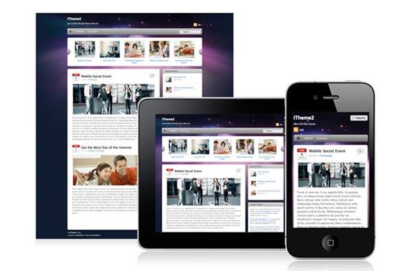 Amazing Free WordPress Mobile Themes