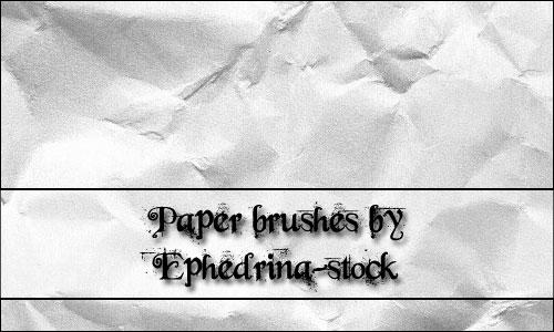 Paper Brushes