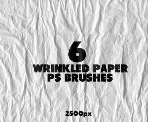 16-Wrinkled Paper Brushes