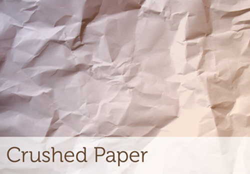 Crushed Paper Brushes