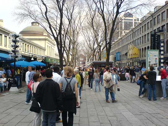 4. Faneuil Hall Marketplace, Boston, MA