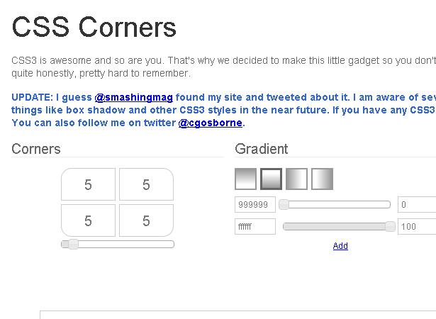 CSS Corners