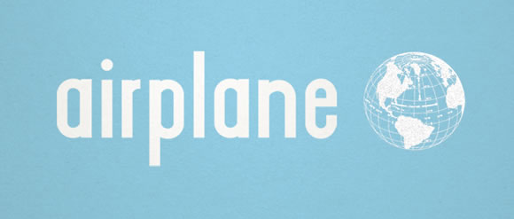 Airplane font