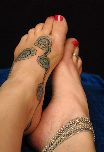 Awesome Foot Tattoo