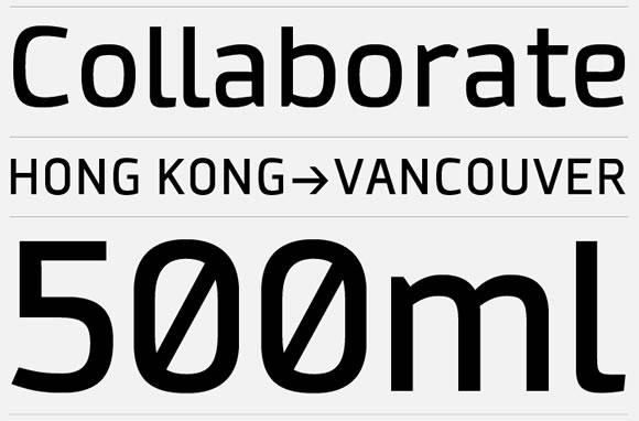 Collator font
