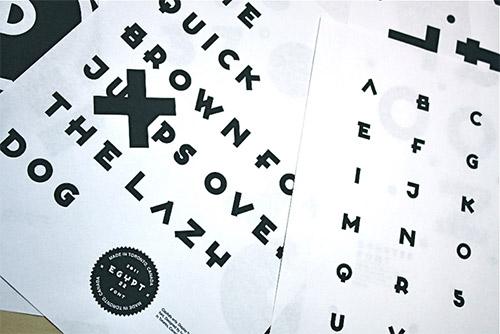 Egypt22 font
