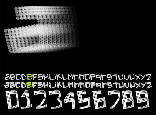 Electric Feel font