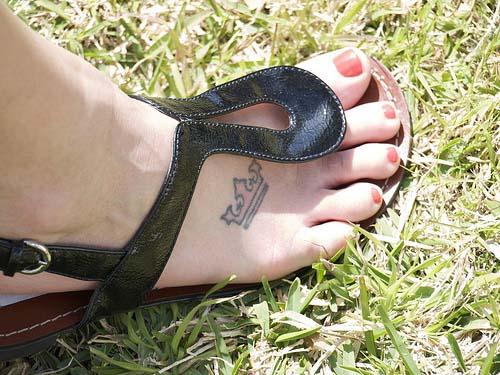 Foot king Tattoo
