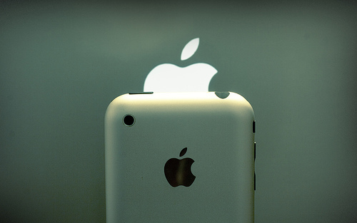 Mac OS X Lion Apple logo 1