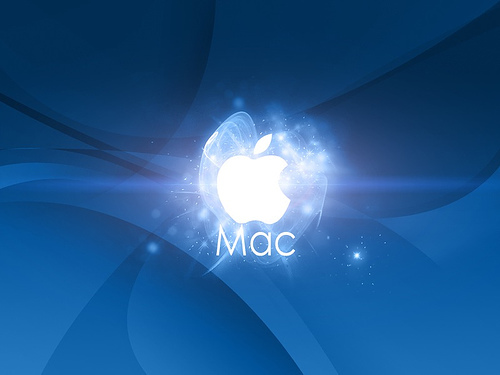 Mac OS X Lion Apple logo 9