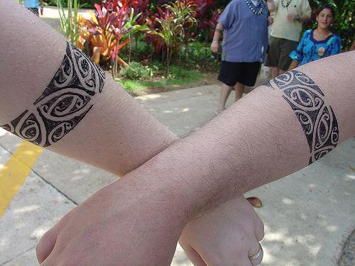 Matching ring tattoo
