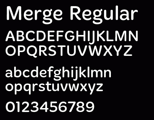 Merge Light (Registration Required) font
