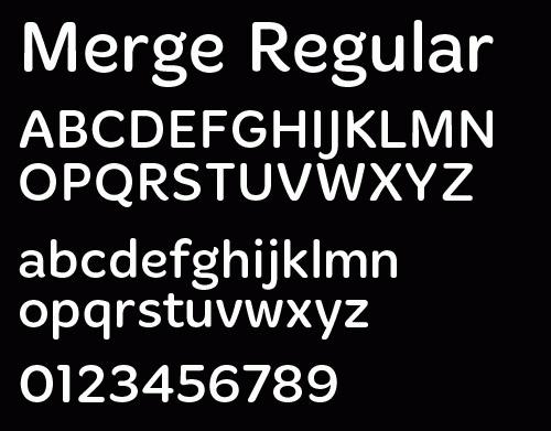 Merge Light (Registration Required) font