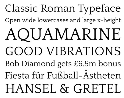 Quattrocento font