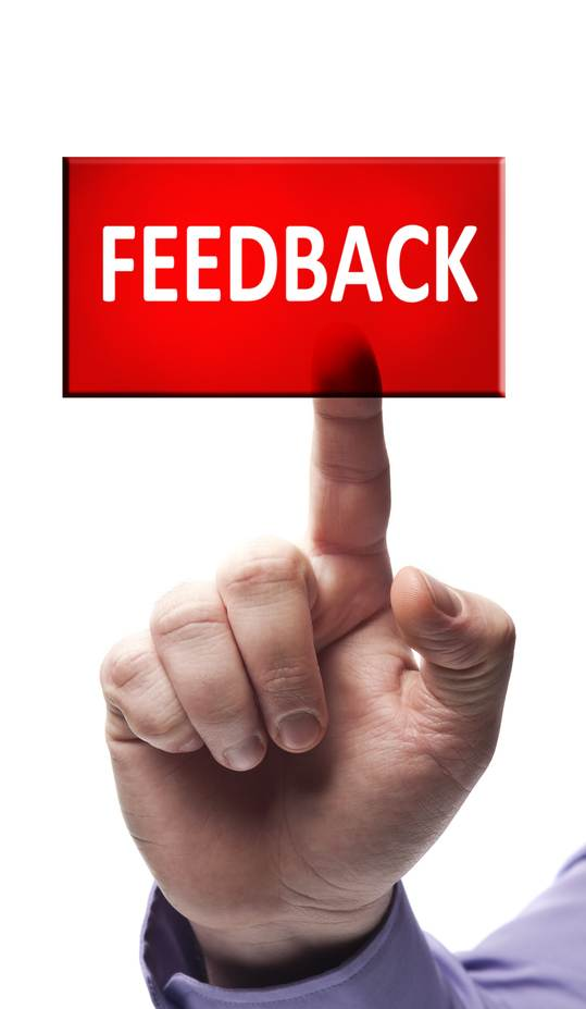 Befriend the Feedback