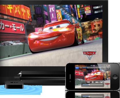 iPhone-4S-airplay-Apple TV