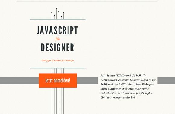 Javascript für Designer