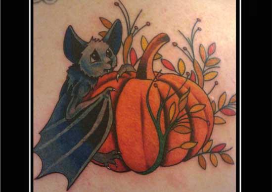 Pumpkin Bat