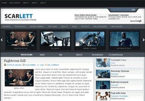 11. Scarlett Theme