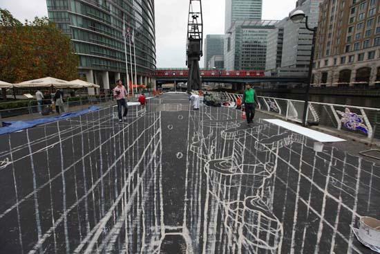 Stunning Record Breaking 3D Street Mural