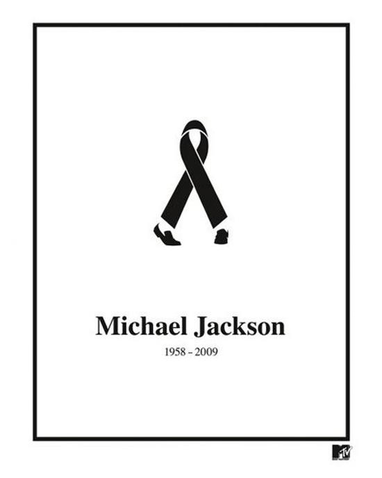 Black Ribbon R.I.P. Michael Jackson