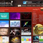 Brushking - Photoshop Brush Site