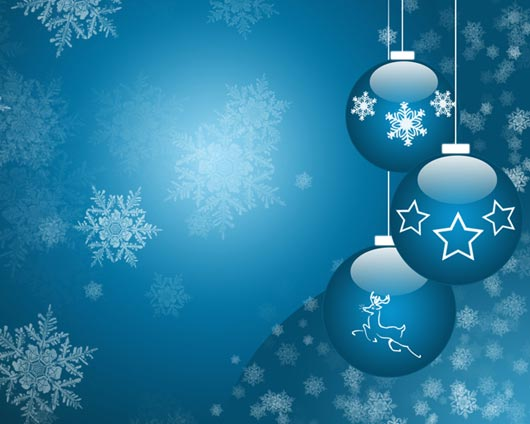 Christmas Glass Balls Drawing Lesson