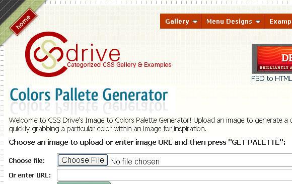 Colors Pallete Generator