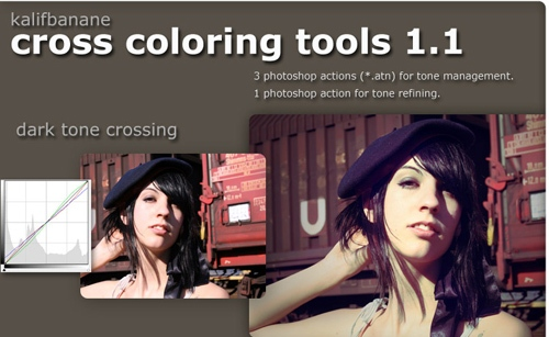 Cross Colouring Photo Effect