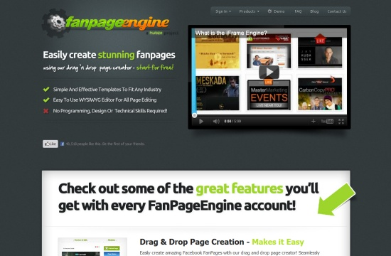 Fan Page Engine