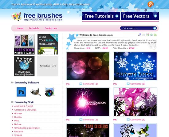 Free Brushes - Photoshop Brush Site
