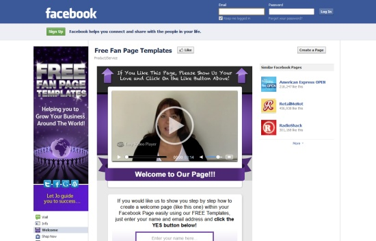 11 effective tools for creating facebook fan pages friedricerecipe Gallery