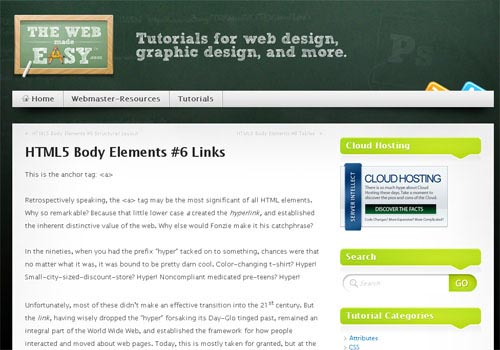 HTML5 Body Elements #6 Links